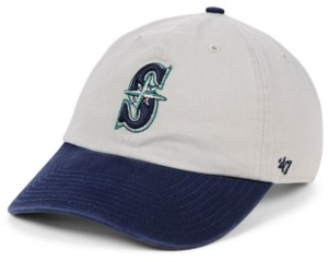 '47 Seattle Mariners Gray 2-Tone Clean Up Cap