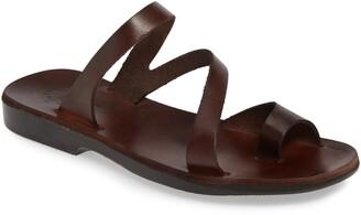 Jerusalem Sandals Noah Toe Loop Slide Sandal