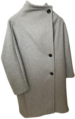 Maje Fall Winter 2019 Grey Wool Coats