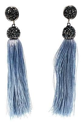 Made It! Silk Tassel Earrings