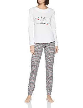 Lovable Women's Cherries Pyjama Set,10 (Size: Small)