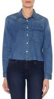 Joe's Jeans Women's Josie Crop Denim Shirt