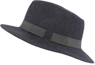 Paul Smith Men's Wool Felt Fedora Hat