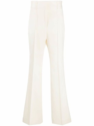 Givenchy Side-Band Flared Trousers