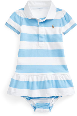 Ralph Lauren Striped Rugby Dress & Bloomer