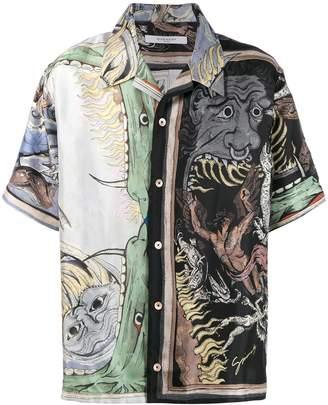 Givenchy Icarus printed shirt