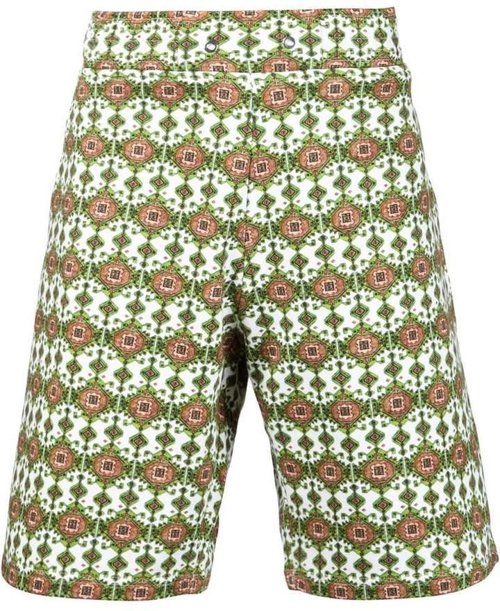Givenchy carpet print bermuda shorts