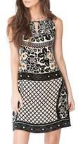 Hale Bob Keri Silk Blend Starburn Dress