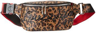 Christian Louboutin Marie Jane Leopard Belt Bag