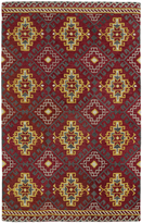 Leon Hand-tufted de Tribal Red Rug (5' x 7'9)