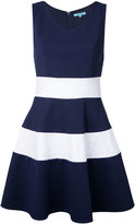 GUILD PRIME striped flared dress - women - Polyester/Polyurethane - 34