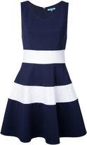 GUILD PRIME striped flared dress - women - Polyester/Polyurethane - 34