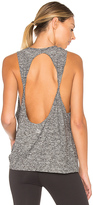 Beyond Yoga Featherweight Spacedye Twisted Open Back Tank
