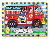 Melissa & Doug NEW Fire Truck Chunky Puzzle