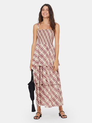Auguste The Label Sloane Lise Tiered Maxi Dress