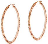 Margherita Bronze 2 Round Hoop Earrings by Bronzo Italia