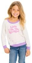Chaser Toddler Girl's Go Girls Sweatshirt