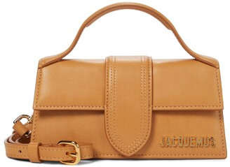 Jacquemus Le Bambino Medium leather tote