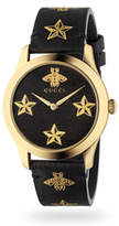 Gucci G-Timeless Black & Gold Unisex Watch