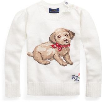 Ralph Lauren Dog Cotton Jumper