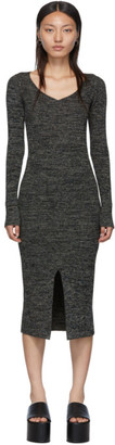 M Missoni Black Rib Knit Dress
