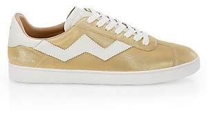Stuart Weitzman Women's Daryl Leather Sneakers