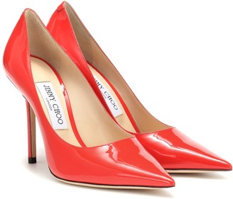 Jimmy Choo Love 100 patent leather pumps