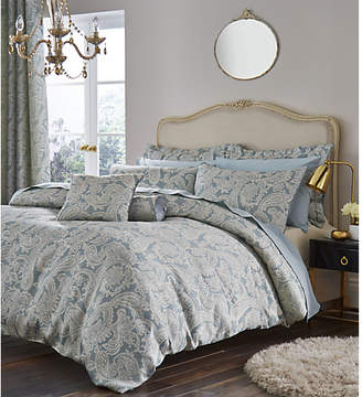 Catherine Lansfield Opulent Duck Egg Bedding Set - Double