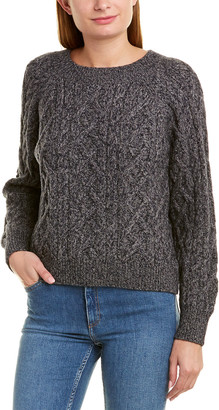 Vince Boatneck Wool & Cashmere-Blend Sweater