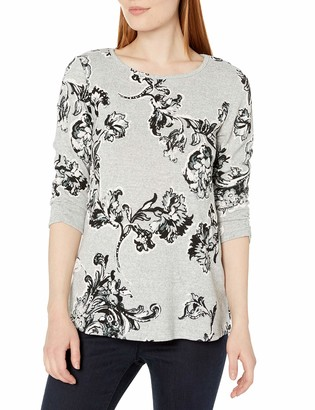 Amy Byer Women's Brushed Hachi Top