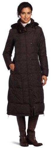 Larry Levine Women's Maxi Length Hood...