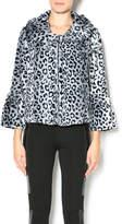Melody Leopard Faux Fur Jacket