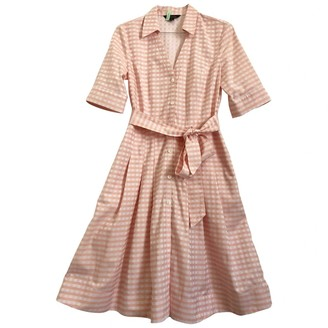 Brooks Brothers Pink Cotton Dress for Women