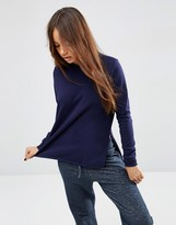 Asos Side Split Sweatshirt