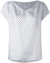 Alberto Biani polka dot T-shirt - women - Silk - 42