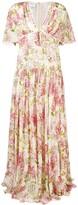 Giambattista Valli long floral print dress