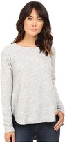 Heather Basket Jacguard Raglan Pullover