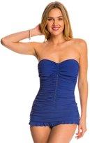 Profile by Gottex Waterfall Bandeau Swim Dress 8140278