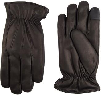 Dockers Men's InteliTouch Leather Gloves