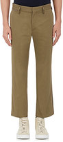 Marc Jacobs MEN'S RIBBED COTTON CROP TROUSERS