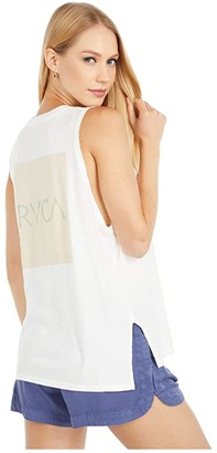RVCA Volume Tank (Vintage White) Women's Clothing