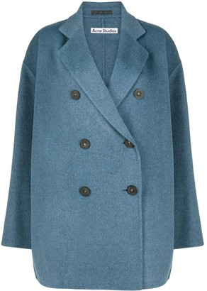 Acne Studios Oversized Double-Breasted Coat