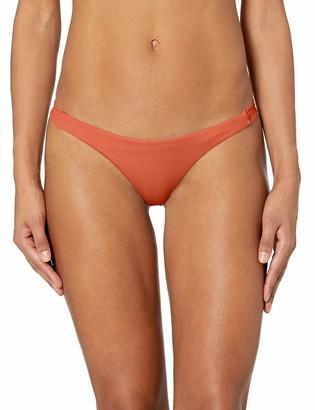RVCA Junior's Solid Skimpy Bikini Bottom