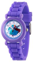 Frozen Girls' Disney Frozen Elsa and Anna Purple Plastic Time Teacher Watch - Purple