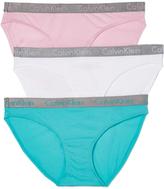 Calvin Klein Underwear Radiant Cotton 3 Pack Bikini Briefs