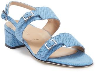 Ron White Elisa Herringbone Stitch Block Heel Sandal