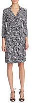 Lauren Ralph Lauren Geometric-Print Wrap Dress