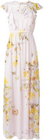 Giambattista Valli floral print dress - women - Silk - 44