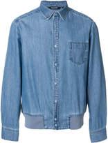 Neil Barrett elasticated waist denim shirt