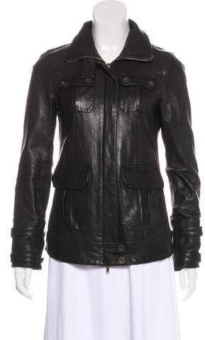 Beau Beau Leather Jacket